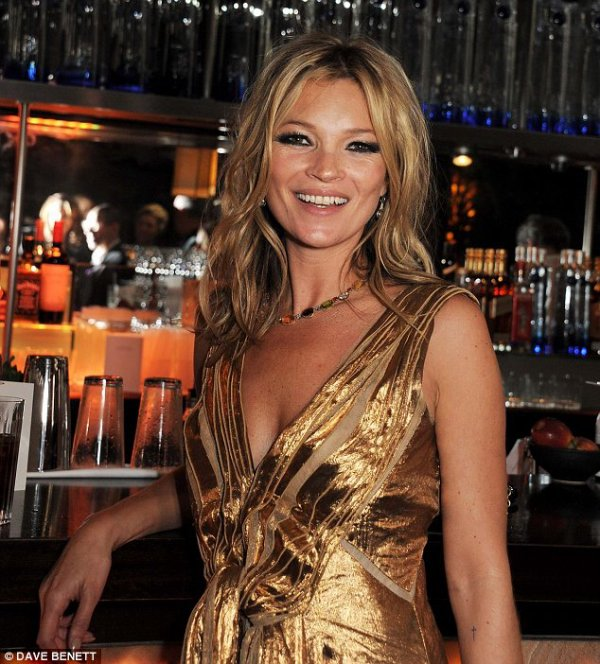 Kate Moss: Soire arrose pour la sortie de son livre...